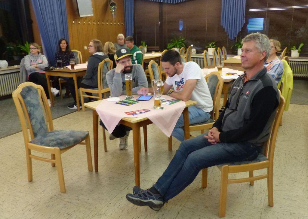 Die Teilnehmer folgen der Veranstaltung (Quelle: NWVV-Region DNS)