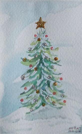 Weihnachtsbaum (Foto: Werner Metschke)