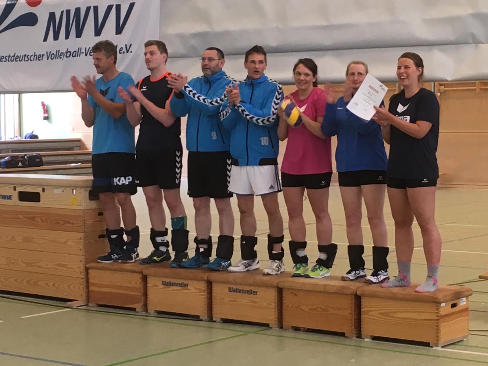 Siegerehrung Landesmeisterschaft Mixed